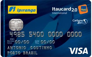 Conheça o Cartão de Crédito Ipiranga Itaucard 2.0 - Juros Baixos f63fa1a59754f