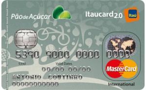 Conheça o Cartão de Crédito Pão de Açúcar Itaucard 2 0