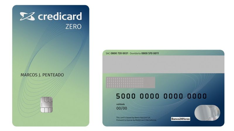 CrediCard Zero Internacional como pedir e benefícios do