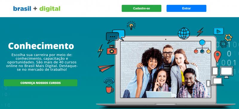Home do Brasil Mais Digital