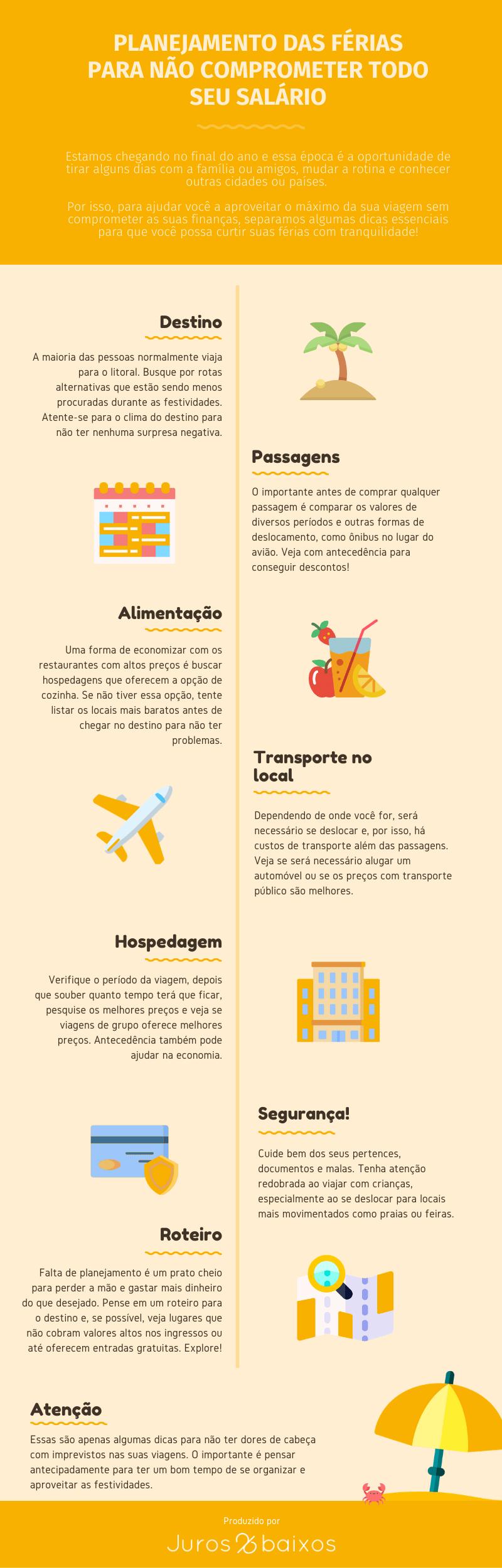 Infográfico Juros Baixos