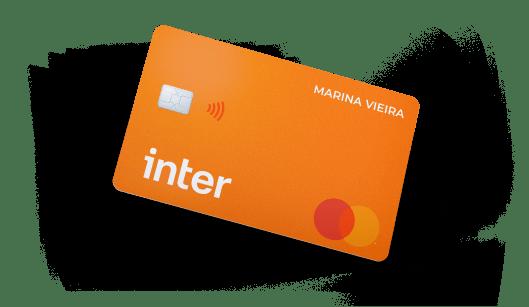 cartão para negativado Inter