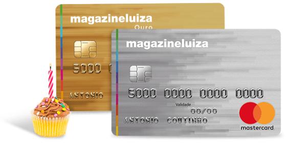 cartão de crédito Magazine Luiza